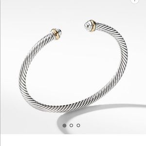 Cable classic with gold David yurman bracelet